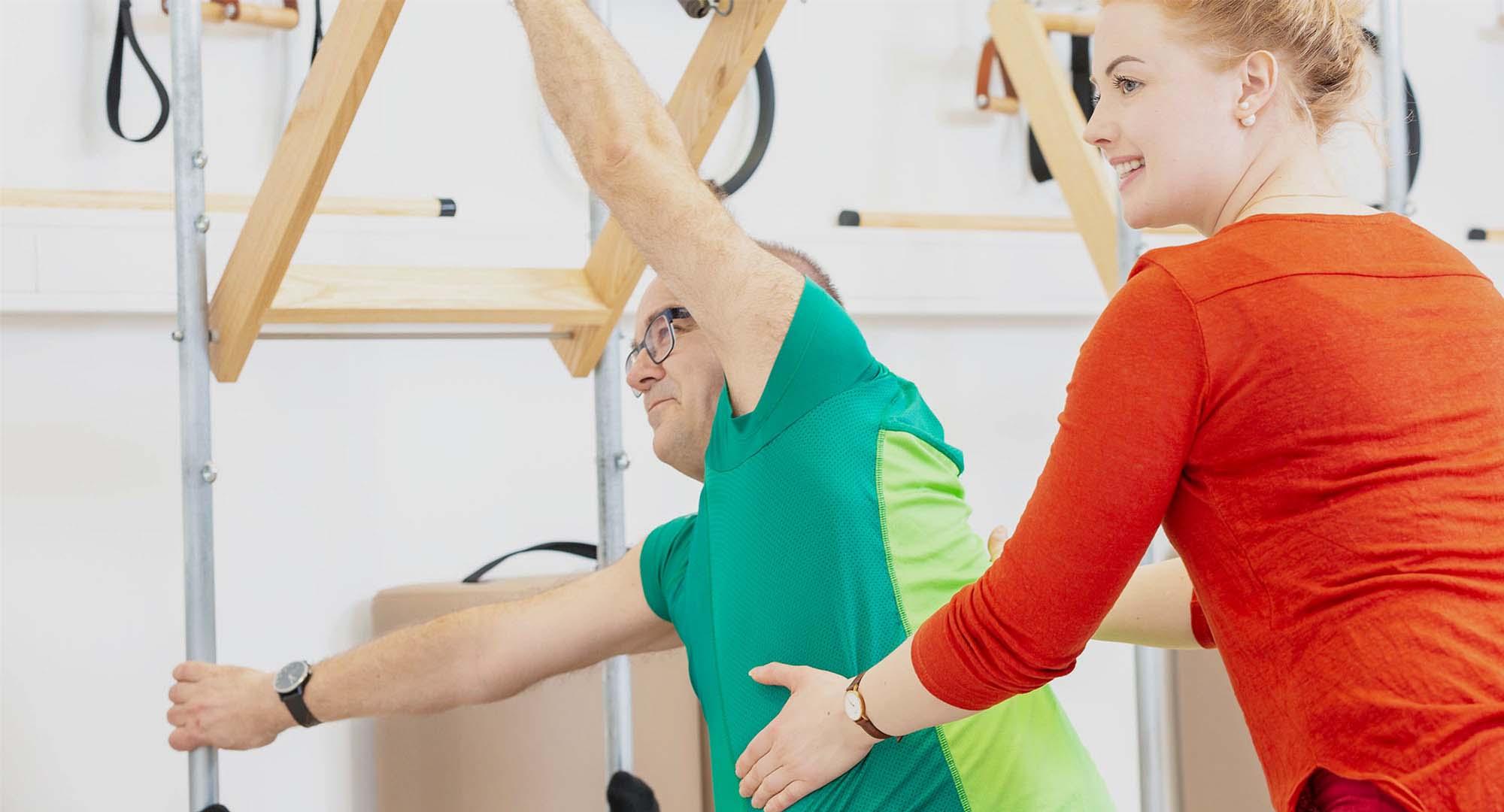 Miesten Pilates harjoittelu