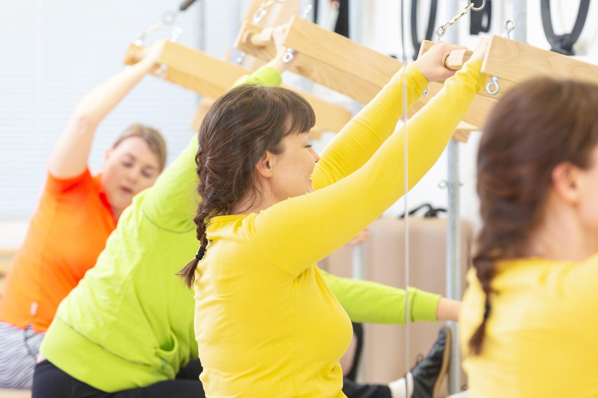Monipuolinen Pilates menetelmä on kokemuksellinen elämys